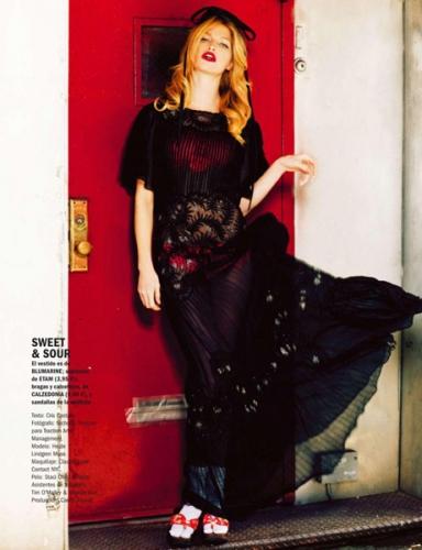 "Sushi Girl"" for Cosmopolitan Spain May 2013"