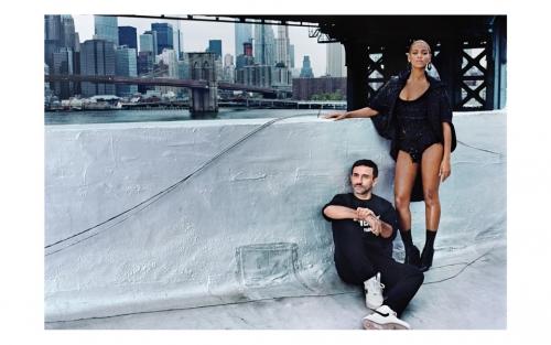 Ricardo Tisci of Givenchy for Vogue Magazine Sept. Issue