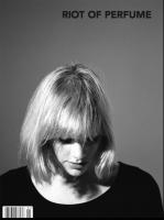 Anika Invada, on the cover of Riot of perfume magazine photographer Robert Nethery